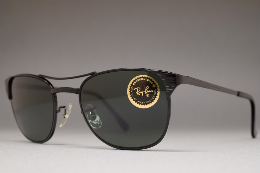 089552b4f1 B L Ray-Ban SIGNET Black   G-15 52-19 Sunglasses