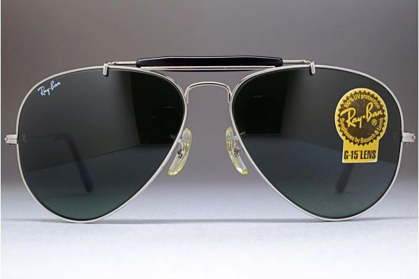 5910b22d620 B L Ray-Ban USA Outdoorsman Gunmetal   G-15 58-14 W0881 Sunglasses