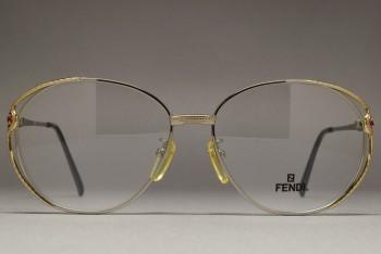 FENDI FE-9214 RG 56-15 2pcs Rubies
