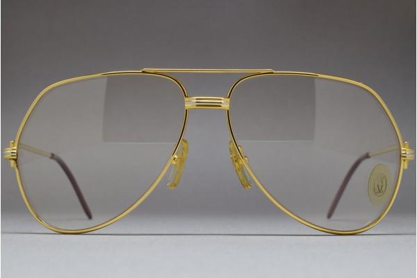 8c2cc4af9143 Cartier Vendome Louis 62-14 Mineral glass Photochromic lenses ...