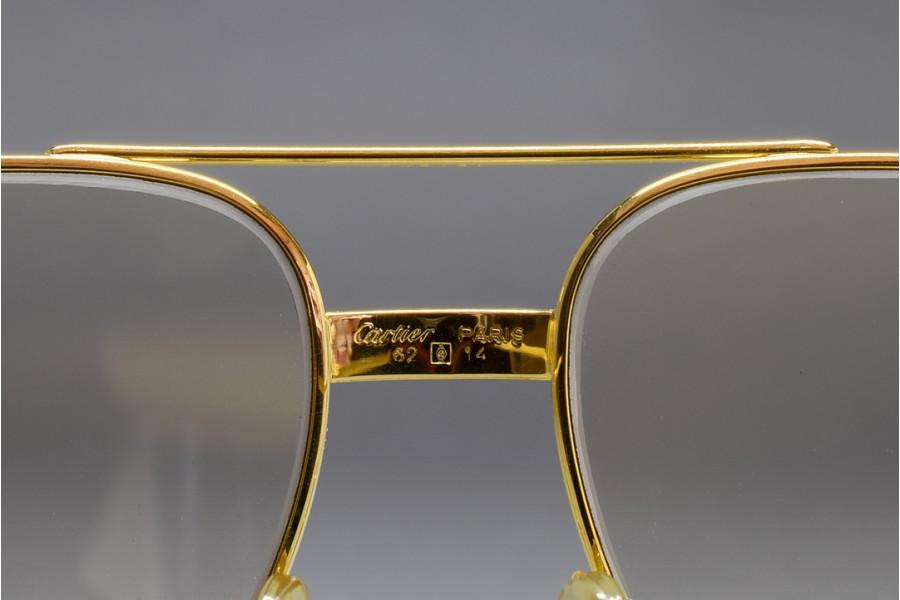 b26fb62073e0 Cartier Vendome Louis 62-14 Mineral glass Photochromic lenses Sunglasses