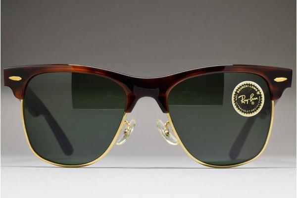 e4773941a2 B L Ray-Ban USA Wayfarer MAX Mock Tortoise G-15 54-18 W1273 ...