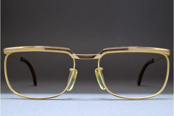 4c8b2c44f48c MARWITZ OPTIMA (54-18) Gold Filled Frame GERMANY
