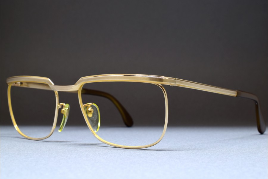 5088a44c019f ... MARWITZ OPTIMA (54-18) Gold Filled Frame GERMANY ...