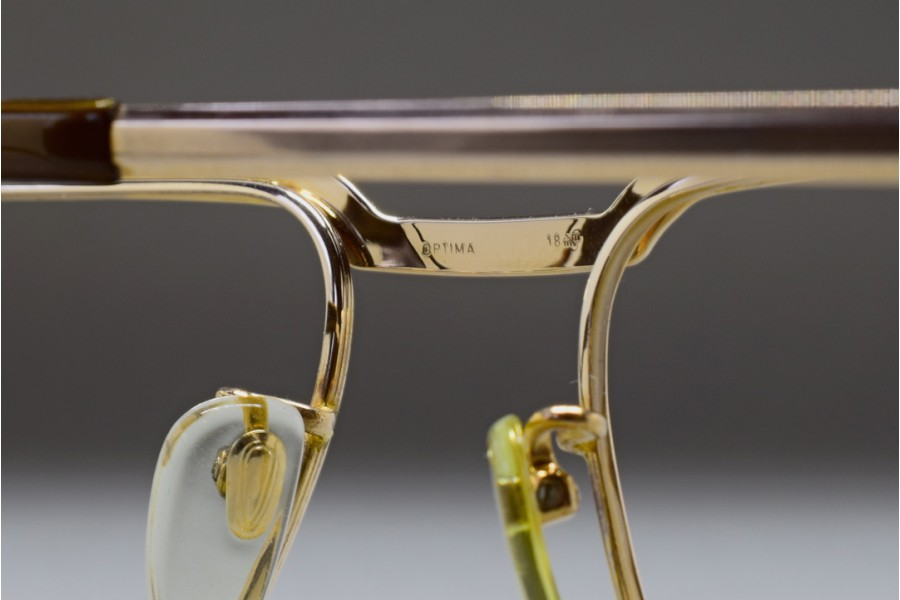0de3c8416573 ... MARWITZ OPTIMA (54-18) Gold Filled Frame GERMANY