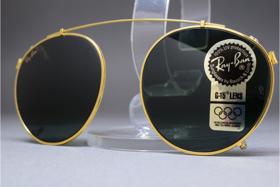 2e6ae248f4245a ... sunglasses unisex 30b8a c7174  ireland bl ray ban round metal clip on g  15 lenses 50mm 5acb4 4a94e