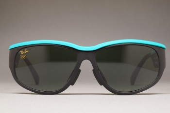 1992 B&L Ray-Ban USA Olympic Sports I Black / Green 58-15