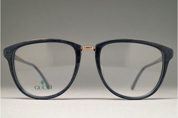 1980s GUCCI GG-3504 Navy Marble 53-18