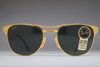 B&L Ray-Ban SIGNET Gold / G-15 52-19 VSAC