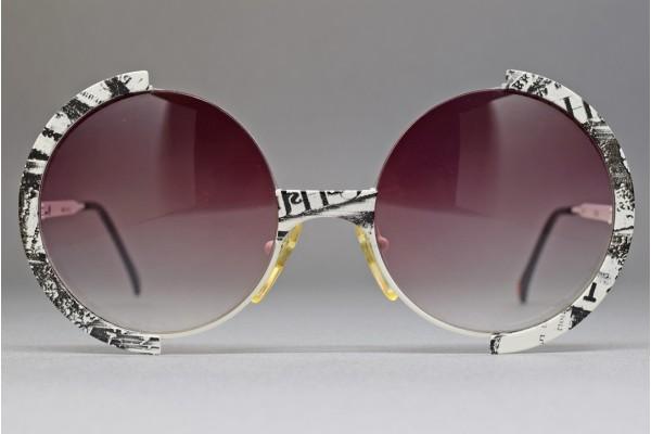 Casanova FC 4 C 65 52-20 Half rim Round sunglasses