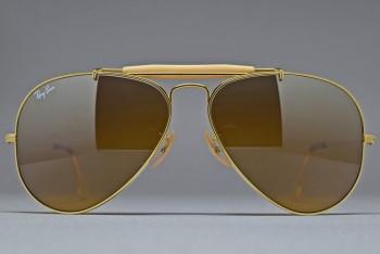 B&L Ray-Ban USA OUTDOORSMAN Gold / B-15TGM 58-14