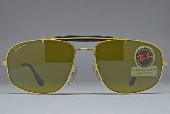 B&L Ray-Ban USA SMALL EXPLORER w. Brow bar Gold / B-20 CHROMAX 58-17