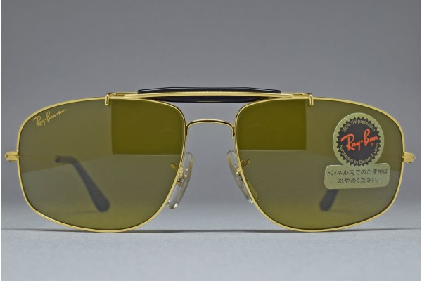 B&L Ray-Ban USA S. EXPLORER w. Brow bar Gold / B-20 CHROMAX 58-17