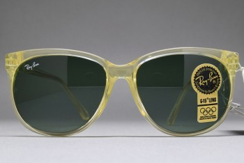B&L Ray-Ban Cat's 1000 C. Pack 56-16 Crystal / G-15 W2036