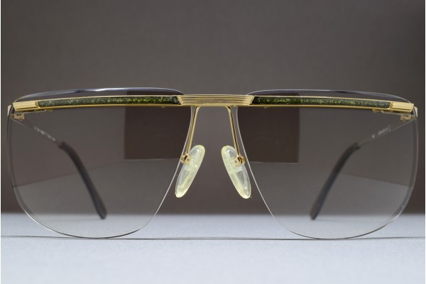 Carl Zeiss TITAN 6863 62-14 MADE IN JAPAN RIMLESS 3-PIECE SUNGLASSES