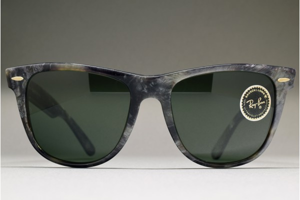B&L Ray-Ban USA Wayfarer II Limited Grey Tortoise / G-15 54-18