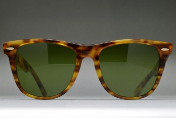 B&L Ray-Ban USA Wayfarer II Limited Blond Tortoise / ♯3 54-18