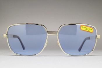 LUX DE MOREZ LUXSOL Biker Sunglasses Silver / L.Blue 66-16
