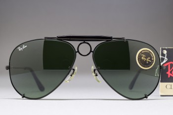 B&L Ray-Ban USA Black Sharp Shooter I 58-14 Black / G-15