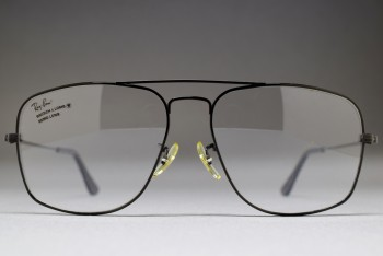 B&L Ray-Ban USA GALAN Rx Frame 60-16 Black