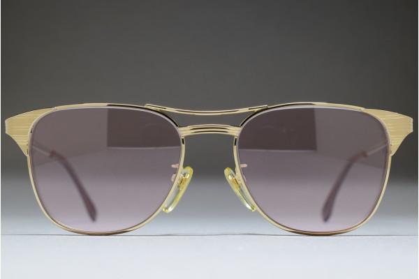 Bausch & Lomb JAPAN Mod 714 Col G 51-17 C.Gold / L. Pink