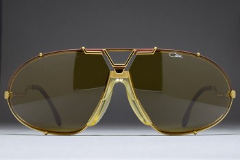 CAZAL MOD 906/1 COL 370 (69-10) West Germany Matte Brown-Gold / Brown