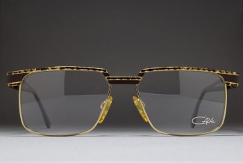 CAZAL MOD 769 COL 496 (59-16) Germany Brown Mottled-Gold