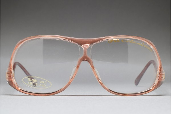 Colani by OPTOS 15-381 (58-11) Pink / Clear / Red brown