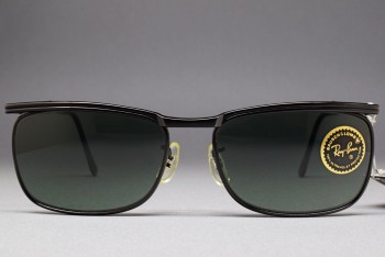 B&L RayBan Signet II Black MADE IN JAPAN Signet DLX