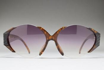 Christian Dior 2397A 10 (62-12) Half Rim Demi Amber / G.Purple gradient