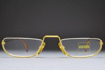 Zeiss 5606 4100 (51-21) Half eye glasses Gold