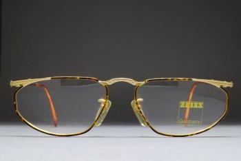 Zeiss Germany A 5992 4301 (54-16) Gold / Enamel Demi Amber