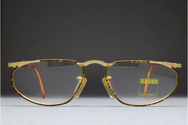 Zeiss Germany A 5992 4301 (54-16) Gold / Enamel Demi Amber