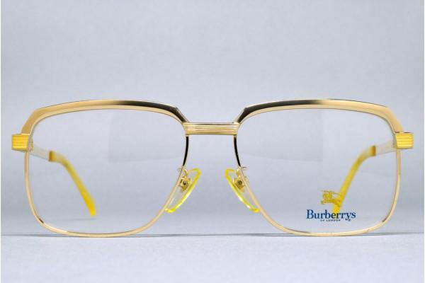 Burberrys BB-K-103 (54-16) Ti-C 1/10 12KGP Matte Gold - Gold