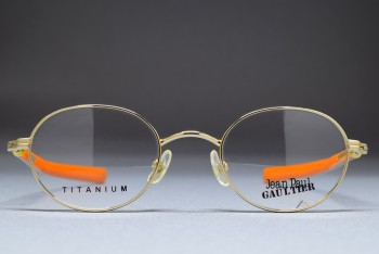 Jean Paul GAULTIER 55-0045 Titanium (45-21) C.Gold