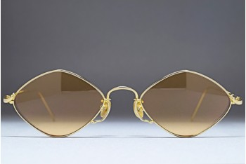 KENZO KE 1872 (50-19) Dimond Shaped Gold / L.Orange