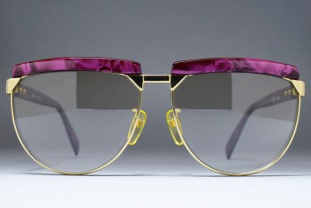 Silhouette M 6076 /21 V 6051 (60-15) Purple marble - Gold / L. Brown Gradient