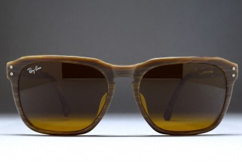 B&L Ray-Ban TRADITIONALS PRESTON (54-18) Chocolate Canyon Matte / B-15 MADE IN JAPAN
