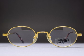 Jean Paul GAULTIER 55-7191 1/20 12K Gold Filled (46-21)