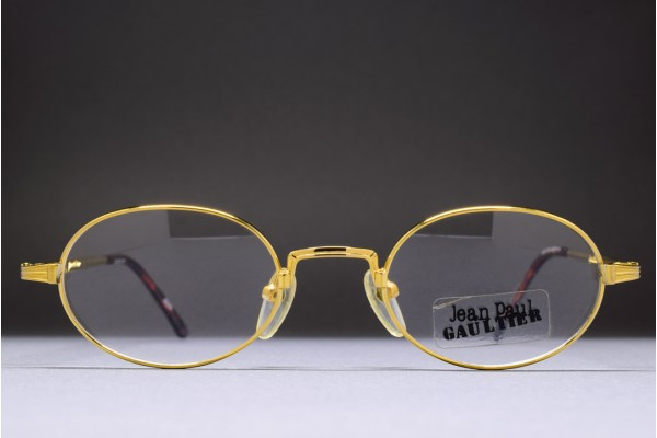 Jean Paul GAULTIER 55-7191 1/20 12K Gold Filled (46-21)