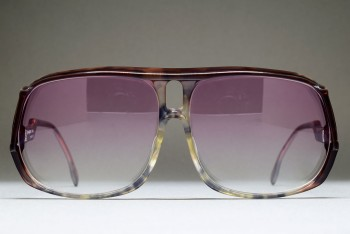 Yves Saint Laurent 31-001 3 by MURAI (62-12) R. brown mottled gradient / Violet gradient