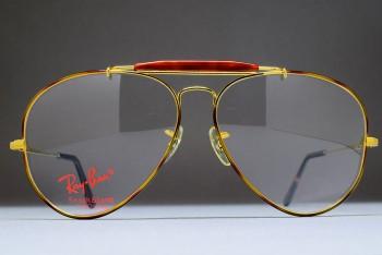 B&L Ray-Ban USA Outdoorsman II RX Frame (62-14) Tortuga / USA