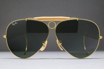 B&L Ray-Ban USA Shooter L0213 Cable Temple (62-8) Arista / G-15