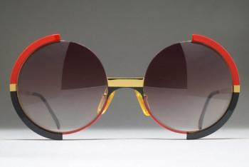 Casanova FC 4 C 66 (52-20) Half Rim Round sunglasses / ITALY