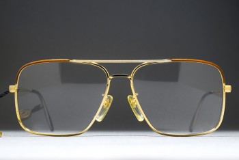 L'AMY JOHN (55-14) Double Bridge Aviator Frame / FRANCE