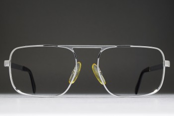 Luxottica 453 (54-18)  Single Upper Bridge Aviator Frame / ITALY