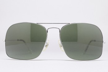 B&L Ray-Ban USA WINNER (58-16) White Chrome / G-15