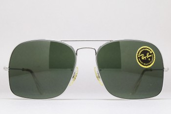 B&L Ray-Ban USA WINNER (58-16) White Chrome : G-15 / USA