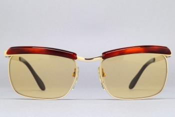 Bausch & Lomb Mod 227 (50-16) 1/20 12K GF [Gold : Brown] / W.GERMANY