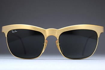 B&L Ray-Ban Nuevo Goldtone G-15 Lenses 55-18 W0755